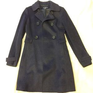 H&M Military Style wool coat  size 6